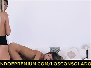 LOS CONSOLADORES - Russian Gina Gerson pounded in FFM