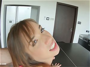 Tina super-fucking-hot introduced in harsh anal invasion scene xxx fashion by rump Traffic