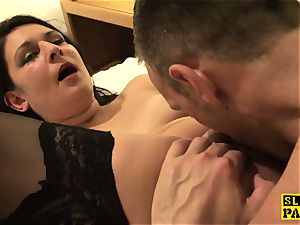 british sub biotch Sophie Garcia riding male domination