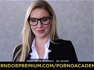 porn ACADEMIE - buxomy Georgie Lyall smashes principal