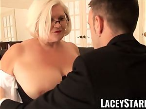 LACEYSTARR - enslaved GILF booty stuffed by Pascal white