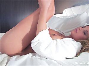 A super hot motel room pummel session with Samantha Saint