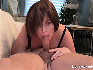 wife deep throated His stiff boner In A Sixty nine
