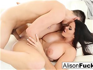 killer Alison Tyler takes on massive prick