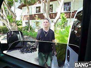 Maya Bijou Her poon blessed on LA pricks