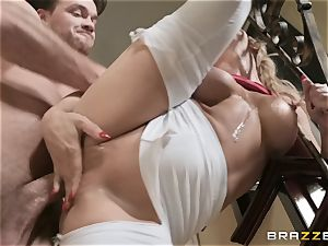 Cherie Deville railing on a giant penis