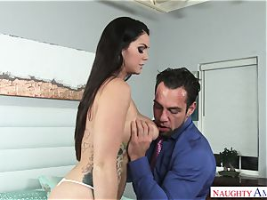 Alison Tyler And Johnny busty pal
