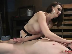 insatiable domina with huge titties likes restrain bondage