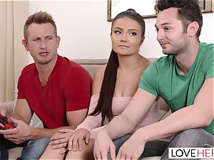 LoveHerFeet - nasty Adria Rae Is A cheating orgy queen