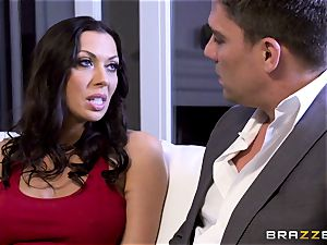 Rachel Starr ravaging her husbands super-fucking-hot suited chief