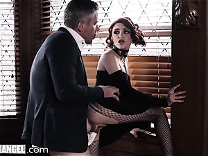 punk masturbating In Detention is rectally disciplined