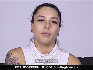 audition FRANCAIS - cool inexperienced first-ever porno pulverize