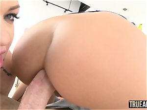 TRUEANAL buttfuck three-way with Adriana and Karmen