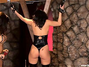 Alluring Lisa Ann tortures a kinky Charley haunt