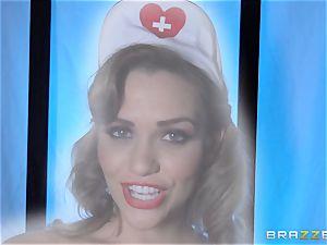 wish nurse Mia Malkova gets her patient through his operation