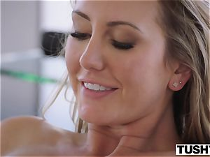 TUSHY Brett Rossi's first-ever off the hook anal invasion!