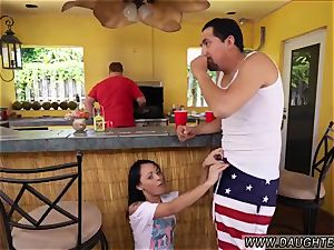 dad teaches associate accomplice s daughter-in-law lesally ally Holly Hendrix Has Some joy With