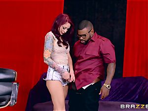 Monique Alexander getting her sugary-sweet cooter penetrated by a ebony pink cigar