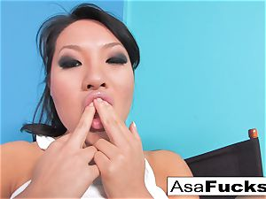 Asa looks sexy in this super hot hardcore solo