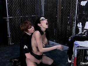 Lily Cade the cop plumbs Dava