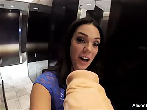 stupid point of view fun with Alison Tyler and a fuck stick