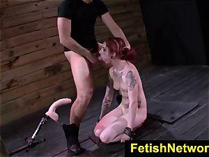 FetishNetwork Sheena Rose restrain bondage mega-slut