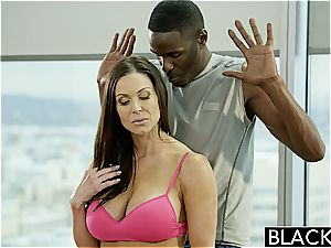 Kendra gets a dosage of his ebony monster