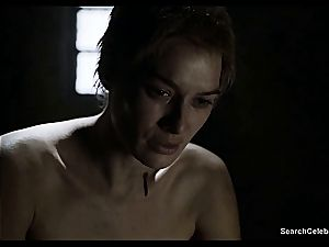 Lena Headey bares her naked bod in Game of Thrones