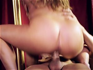 Carter Cruise slams her sex subs hung lollipop into her caboose