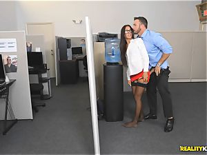 Office plow with the assistant Aubrey Rose who happens to be the bosses daughter-in-law