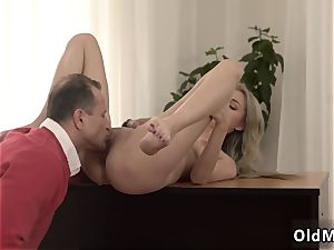 brit light-haired bondage Stranger in a fat palace knows how to molten you up