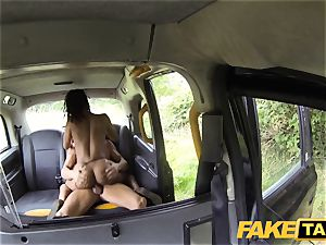 fake taxi fast humping and internal cumshot for peachy culo