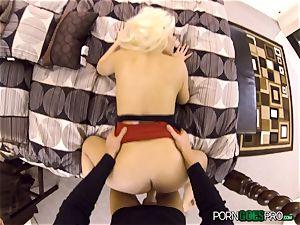 nasty blondie honey Britney Amber plowed in her jiggly honeypot pie pudding
