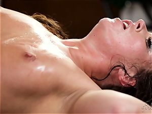 nymph on woman with Maddy OReilly and Cadence Lux