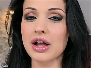 sweet super-hot Aletta Ocean can taunt every guy she wants with those awesome hooters