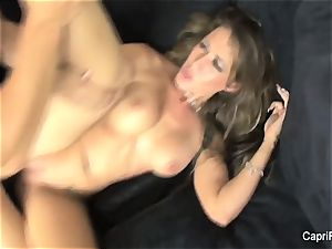 Capri Cavanni fucks The Pizza guy