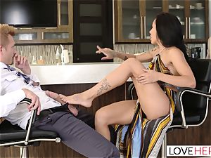 LoveHerFeet - Sneaky cuckold sole fuck-a-thon With The Realtor