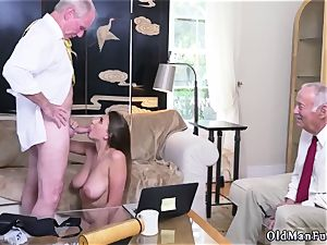 Latino parent and ambisexual cuckold stud first-ever time Ivy makes an impression with her phat knockers and donk