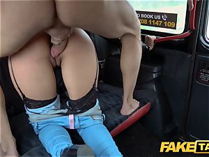 fake cab super-fucking-hot Latina with phat bumpers and bum