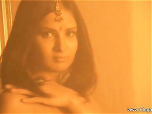 old school Indian ultra-cutie On flash