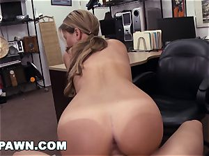 xxx PAWN - Waitress Desperate For Cash Sells Her caboose
