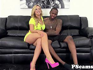 cam babe Cherie Deville bi-racial pulverizes
