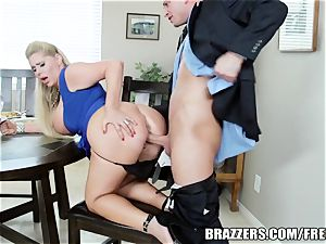Brazzers - two fellows and two mummies nail