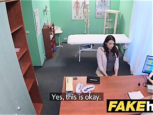 fake hospital frolic smooth-shaven muff Russian babe