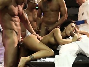 sex Bots group sex with super-sexy asian Asa Akira