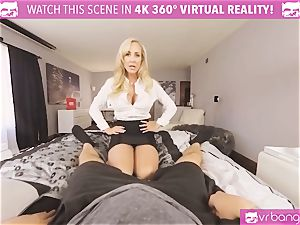 VRBangers.com-MILF is inserting a massager in her vagina