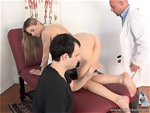 Jillian Gets fucked By Real dude in Front of husband