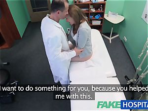 FakeHospital doc creampies gorgeous tight cunt